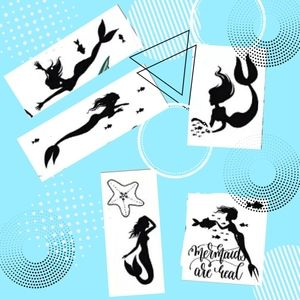 *PLEASE BUNDLE* MERMAID TATTOOS